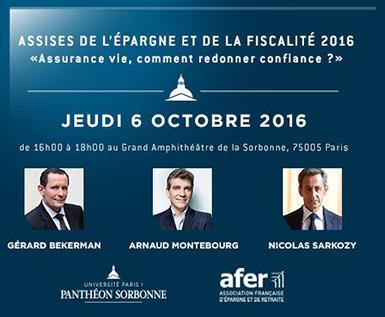 Les Assises de l'Epargne et de la Fiscalité 2016 - http://gerard-bekerman.fr/post/tribune/1-les-assises/